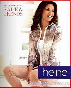 9846d0ed678 Каталог Heine Sale And Trends весна-лето 2017 - это распродажа дизайнерских  коллекций женской одежды из Германии.