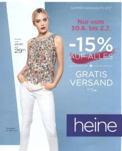58b70e91b66 Каталог Heine Sale осень-зима 2017 - распродажа летней коллекции женской  одежды из Германии.