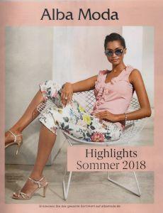 Каталог Alba Moda лето 2018 - шикарная женская мода в стиле Smart casual  известных мировых брендов 955b0f14ed3