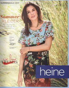 fbeca436a51 Каталог Heine Trends Summer Sale лето 2017-одежда из Германии по приемлемой  цене для современной женщины.
